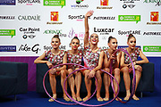 The Bulgarian Group at World Cup of Pesaro 2017.