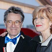 NLD/Amsterdam/20120404 - Opening filmmuseum Eye, Mieke van der Weij en partner