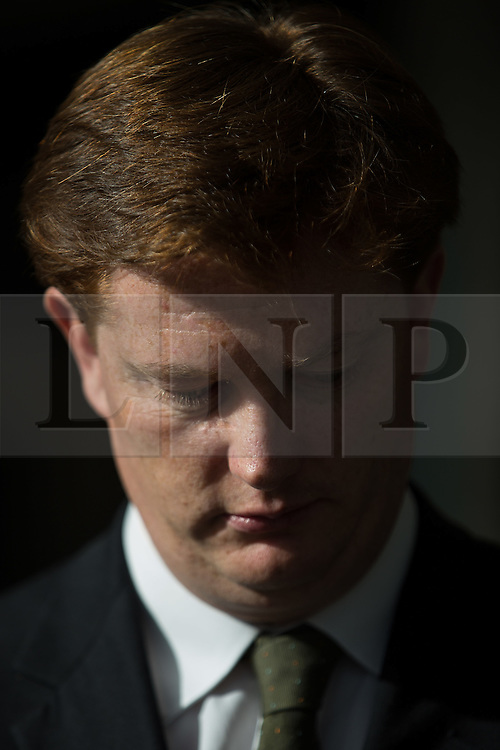 © Licensed to London News Pictures . 04/10/2014 . Glasgow , UK . Chief Secretary to the Treasury DANNY ALEXANDER at the Liberal Democrat Party Conference at the Scottish Exhibition and Conference Centre in Glasgow . Photo credit : Joel Goodman/LNP