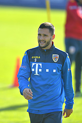 November 13, 2017 - Mogosoaia, Romania - Florin  of Romania Football Team during a training session at Mogosoaia, Romania on 13 November 2017. (Credit Image: © Alex Nicodim/NurPhoto via ZUMA Press)