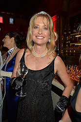 LUCY SANGSTER at the Tatler Magazine's Kings & Queens party held at Savini at Criterion, Piccadilly, London on 1st June 2016.