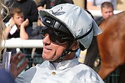 Jockey FRANKIE DETTORI during the opening day of the St Leger Festival at Doncaster Racecourse, Doncaster, United Kingdom on 11 September 2019.