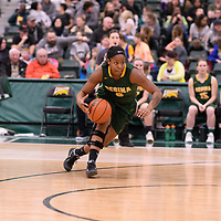 2nd year guard Kyia Giles (6) of the Regina Cougars in action during the Women's Basketball home game on January  20 at Centre for Kinesiology, Health and Sport. Credit: /Arthur Images