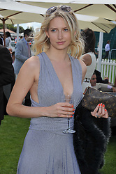 CHLOE CUNNINGHAM at the 27th annual Cartier International Polo Day featuring the 100th Coronation Cup between England and Brazil held at Guards Polo Club, Windsor Great Park, Berkshire on 24th July 2011.