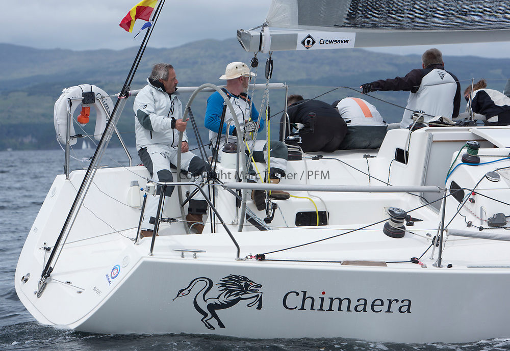 Silvers Marine Scottish Series 2017<br /> Tarbert Loch Fyne - Sailing Day 3<br /> <br /> IRL2160, Chimaera, Andrew Craig, Royal Irish YC, J109