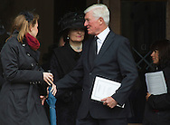 Former British Cabinet minister Cecil Parkinson departing St. Paul's following the funeral service for Margaret Thatcher. The funeral of Baroness Thatcher of Kesteven took place at St. Paul's Cathedral in central London following a procession though the city with full military honours. Margaret Thatcher was Britain's first woman Prime Minister, from her election in 1979 until she resigned in 1990, she died on April 9, 2013.