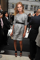 Natalia Vodianova at a reception hosted by Vogue and Burberry to celebrate the launch of Fashions Night Out - held at Burberry, 21-23 Bond Street, London on 10th September 2009.