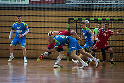 Aleksander Spende during friendly match between Slovenia and Austria in Cerklje na Gorenjskem, Slovenia on 8th of June, 2019 .Photo by Peter Podobnik / Sportida
