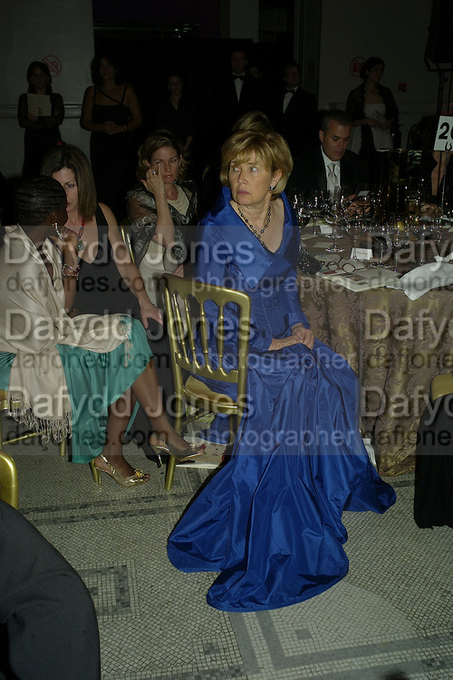 LADY HOLMES, Women for Women International UK Gala Evening. V. & A. 29 April 2008.  *** Local Caption *** -DO NOT ARCHIVE-© Copyright Photograph by Dafydd Jones. 248 Clapham Rd. London SW9 0PZ. Tel 0207 820 0771. www.dafjones.com.