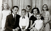 formal family group portrait Holland 1960s