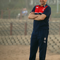 DURBAN, SOUTH AFRICA, 1,June, 2016 - Ali Hepher (Head Coach) (Exeter Chiefs) of the England Saxons during The England Saxons team recovery session at the umhlanga beach Durban, South Africa. (Photo by Steve Haag) England Saxons<br /> <br /> Images for social media must have consent from Steve Haag