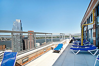 Roof Deck at 500 West 43rd St