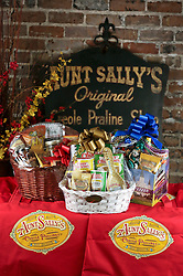 21 September 2015. New Orleans, Louisiana.<br /> Aunt Sally's Pralines.<br /> Photo©; Charlie Varley/varleypix.com