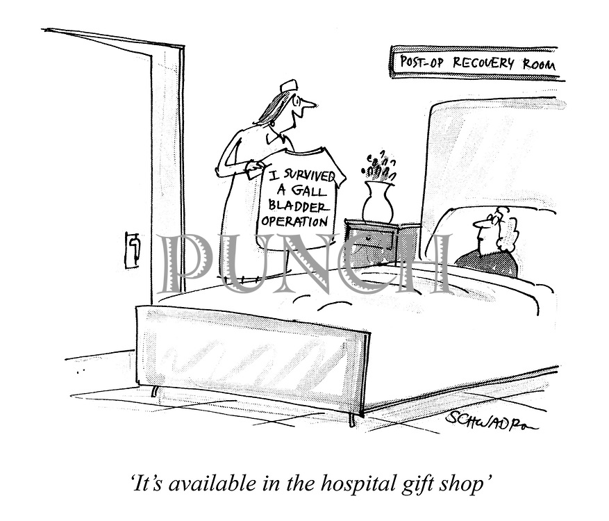 """It's available in the hospital gift shop"""