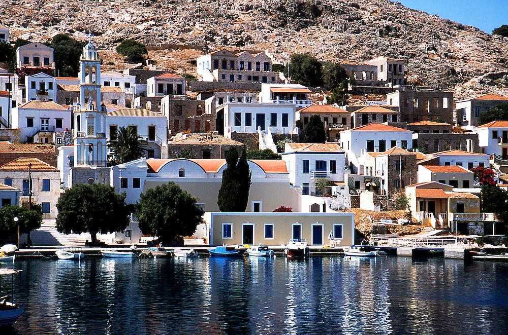 Halki island, Dodecanese islands, Greece.