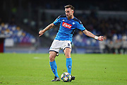 Fabian Ruiz of Napoli in action during the UEFA Champions League, Group E football match between SSC Napoli and KRC Genk on December 10, 2019 at Stadio San Paolo in Naples, Italy - Photo Federico Proietti / ProSportsImages / DPPI
