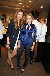 Left to right, ALEXANDRA SPENCER daughter of Michael Spencer and LADY CONSTANCE MARQUIS at an evening of private shopping in aid of Elizabeth Fitzroy Support at Tiffany & Co, 145 Sloane Street, London on 14th May 2008.<br /><br />NON EXCLUSIVE - WORLD RIGHTS