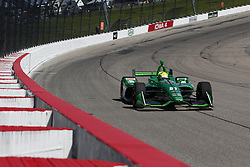 July 7, 2018 - Newton, Iowa, United States of America - SPENCER PIGOT (21) of the United State takes to the track to practice for the Iowa Corn 300 at Iowa Speedway in Newton, Iowa. (Credit Image: © Justin R. Noe Asp Inc/ASP via ZUMA Wire)