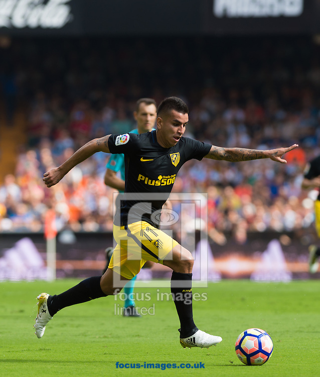 Angel Correa of Atletico Madrid during the La Liga match at Mestalla, Valencia<br /> Picture by Maria Jose Segovia/Focus Images Ltd +34 660052291<br /> 02/10/2016