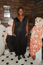 PHILOMENA KWAO at a party to celebrate the launch of the Beth Ditto Clothing Line held at The London Edition, Berners Street, London on 18th February 2016.