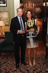 A party to promote the exclusive Puntacana Resort & Club - the Caribbean's Premier Golf & Beach Resort Destination, was held at Spencer House, London on 13th May 2010.<br /> <br /> Picture shows:-ARNAUD & MAGGIE SNOUCK-HARONGIE