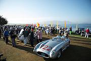 August 14-16, 2012 - Pebble Beach / Monterey Car Week. stirling moss' mille miglia winning 300 SLR #722