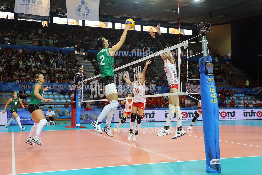 Azerbaijan Kseniya Kovalenko spikes