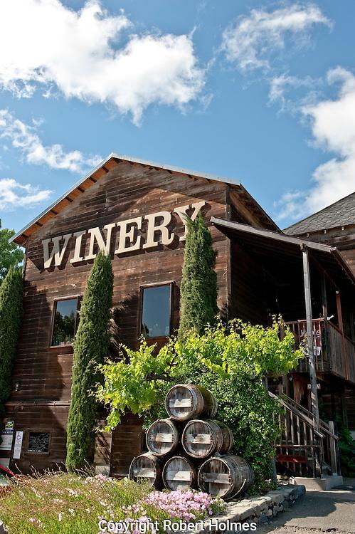 Milano Winery, Hopland, Mendocino County, California