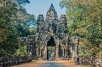 east gate Angkor Thom Cambodia