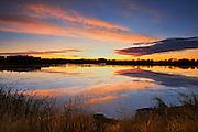SUnrise over wetland<br /> Grande Prairie<br /> Alberta<br /> Canada<br /> Grande Prairie<br /> Alberta<br /> Canada