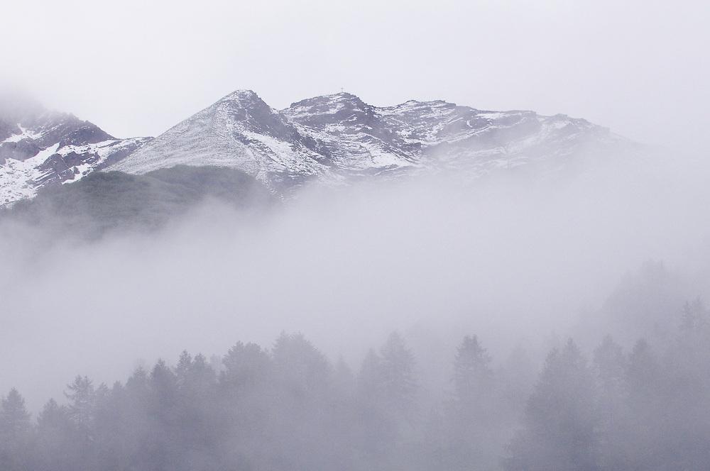 Landscape near Malbun, Liechtenstein