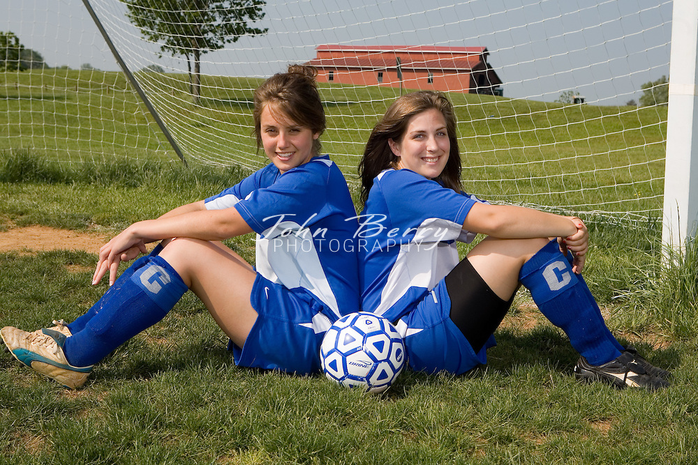 MCHS Girl's Varsity Soccer .Team Photos.5/15/2007