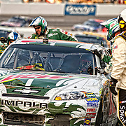 October 30, 2011; Martinsville, VA, USA; NASCAR Sprint Cup Series driver Dale Earnhardt Jr (88) before the TUMS Fast Relief 500 at Martinsville Speedway.