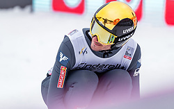 17.03.2019, Vikersundbakken, Vikersund, NOR, FIS Weltcup Skisprung, Raw Air, Vikersund, Einzelbewerb, Herren, im Bild Manuel Fettner (AUT) // Manuel Fettner of Austria during the individual competition of the 4th Stage of the Raw Air Series of FIS Ski Jumping World Cup at the Vikersundbakken in Vikersund, Norway on 2019/03/17. EXPA Pictures © 2019, PhotoCredit: EXPA/ JFK
