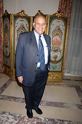 PROF.SIR MAGDI YACOUB at a party to celebrate the publication of The End of Sleep by Rowan Somerville held at the Egyptian Embassy, London on 27th March 2008.<br /><br />NON EXCLUSIVE - WORLD RIGHTS