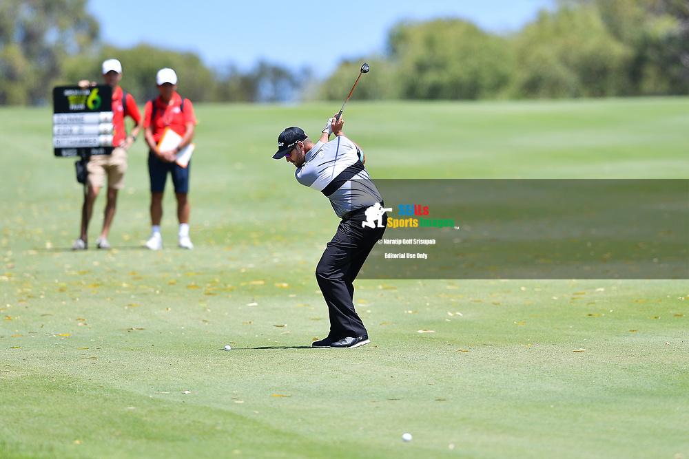 PERTH, AUSTRALIA - FEBRUARY 16: Daniel Fox (WA) on the 7th fairway during the 3rd round of the ISPS Handa World Super 6, Lake Karrinyup Country Club, Perth, Western Australia, on February 16, 2019. <br /> .<br /> .<br /> .<br /> (Photo by: Naratip Golf Srisupab/SEALs Sports Images)<br /> .<br /> Any image use must include a mandatory credit line adjacent to the content which should read: Naratip Golf Srisupab/SEALs Sports Images
