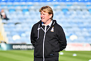 Bradford City manager Stuart McCall before the EFL Sky Bet League 1 match between Portsmouth and Bradford City at Fratton Park, Portsmouth, England on 28 October 2017. Photo by Graham Hunt.