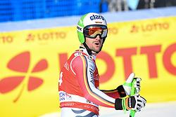 26.10.2019, Kandahar, Garmisch, GER, FIS Weltcup Ski Alpin, Abfahrt, Herren, im Bild Dominik Schwaiger (GER) // Dominik Schwaiger of Germany reacts after his run in the men's downhill of FIS Ski Alpine World Cup at the Kandahar in Garmisch, Germany on 2019/10/26. EXPA Pictures © 2020, PhotoCredit: EXPA/ Erich Spiess
