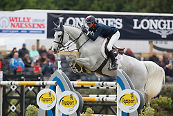 Leprevost Penelope (FRA) - Dame Blance van Arenberg <br /> Furusiyya FEI Nations Cup<br /> Longines Spring Classic of Flanders<br /> CSIO5 Jumping Lummen 2014<br /> © Dirk Caremans