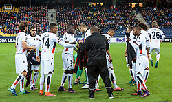 20.10.2016, Red Bull Arena, Salzburg, AUT, UEFA EL, FC Red Bull Salzburg vs OGC Nizza, Gruppe I, im Bild Teamfoto Paul Baysse (OGC Nice), Valentin Eysseric (OGC Nice). Alassane Plea (OGC Nice), Malang Sarr (OGC Nizza), Mathieu Bodmer (OGC Nice), Dalbert Estevao (OGC Nice), Ricardo (OGC Nice) // Teampicture Paul Baysse (OGC Nice), Valentin Eysseric (OGC Nice). Alassane Plea (OGC Nice), Malang Sarr (OGC Nizza), Mathieu Bodmer (OGC Nice), Dalbert Estevao (OGC Nice), Ricardo (OGC Nice) during the UEFA Europa League group I match between FC Red Bull Salzburg and OGC Nizza at the Red Bull Arena in Salzburg, Austria on 2016/10/20. EXPA Pictures © 2016, PhotoCredit: EXPA/ JFK