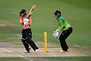Danielle Wyatt of Southern Vipers batting during the Kia Women's Cricket Super League Final match between Western Storm and Southern Vipers at the 1st Central County Ground, Hove, United Kingdom on 1 September 2019.
