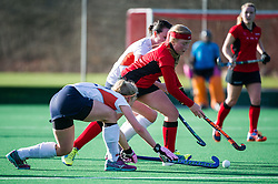 A disapointing day for the L1s as they go down 2-0 against St Albans. Southgate L1 v St Albans L1 - Investec Women's Hockey League - East Conference, Trent Park, London, UK on 04 February 2017. Photo: Simon Parker