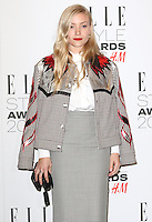 Kate Foley, ELLE Style Awards 2016, Millbank London UK, 23 February 2016, Photo by Richard Goldschmidt