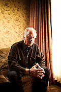 "Author Ted Bell, photographed in Aspen, CO, for Harper Collins publishers. Bell's ""Alex Hawke"" spy thriller series includes such titles as: Tsar, Assassin, Pirate, Warlord, Spy, and Hawke."