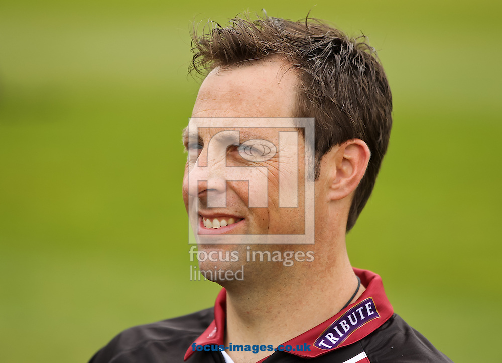 Marcus Trescothick sits for a picture during the Somerset County Cricket Club media day at the County Ground, Taunton, Taunton<br /> Picture by Tom Smith/Focus Images Ltd 07545141164<br /> 31/03/2014