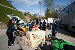 Impression<br /> Paris - FEI World Cup Finals 2018<br /> Impressionen vor der Halle<br /> www.sportfotos-lafrentz.de/Stefan Lafrentz<br /> 11.04.18