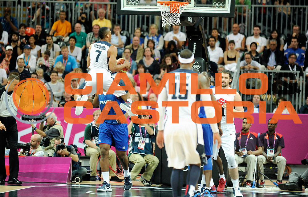 TDESCRIZIONE : France Basket Jeux Olympiques Londres <br /> GIOCATORE : WESTBROOK Russel USA <br /> SQUADRA : USA Homme<br /> EVENTO : FRANCE basket Jeux Olympiques<br /> GARA : FRANCE USA<br /> DATA : 29 07 2012<br /> CATEGORIA : Basketball Jeux Olympiques<br /> SPORT : Basketball<br /> AUTORE : JF Molliere <br /> Galleria : France JEUX OLYMPIQUES 2012 Action<br /> Fotonotizia : France Basket Homme Jeux Olympiques Londres premier tour France Usa<br /> Predefinita :