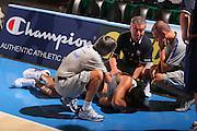 DESCRIZIONE : Bormio Raduno Collegiale Nazionale Maschile Allenamento <br /> GIOCATORE : Tommaso Fantoni Sandro Galleani Oggioni <br /> SQUADRA : Nazionale Italia Uomini <br /> EVENTO : Raduno Collegiale Nazionale Maschile <br /> GARA : <br /> DATA : 26/07/2008 <br /> CATEGORIA : Infortunio <br /> SPORT : Pallacanestro <br /> AUTORE : Agenzia Ciamillo-Castoria/S.Silvestri <br /> Galleria : Fip Nazionali 2008 <br /> Fotonotizia : Bormio Raduno Collegiale Nazionale Maschile Allenamento <br /> Predefinita :