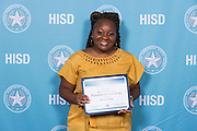 Houston ISD staff pose for a photograph during the 2014 Team HISD Celebration of Excellence, May 1, 2014.