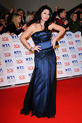 Alison King at the National Television Awards held in London on Wednesday, 25th January 2012. Photo by: i-Images